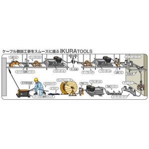 育良精機 (配送先法人様限定) イクラクロスロープ 20201 12打ち 直径10mm 長さ100m|taketop|03