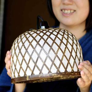 【受注生産】虎竹照明丸傘ライト(小)|taketora