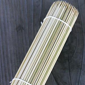 国産皮付き<極上>丸竹串(15cm)|taketora