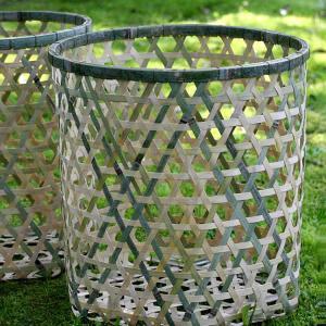 竹製の玉入れかご、運動会を昔ながらの竹編み籠が応援します! taketora