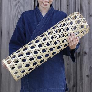 夏でもひんやり涼しい竹の抱き枕 白竹抱き枕六ツ目 70センチ(竹夫人/竹婦人/筒枕/筒まくら)|taketora