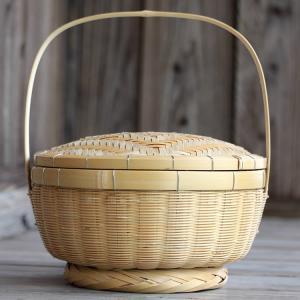 伝統と匠の飯籠(網代蓋)|taketora