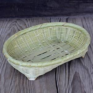 真竹磨き楕円盛り籠(小)|taketora