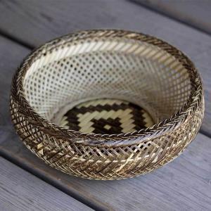 虎竹盛りかご(鉄鉢)|taketora