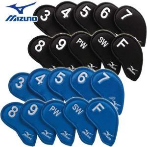 【日本正規品】 ミズノ アイアンカバー 番手別対応10枚セット(No3〜9、PW、SW、F) 45HS01470|takeuchi-golf
