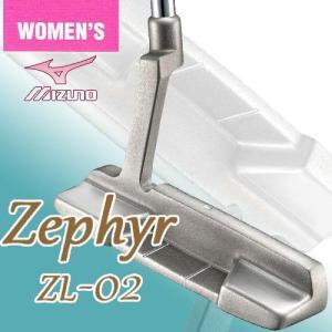 ミズノ レディースモデル ゼファー パター ゼファーオリジナル カーボンシャフト MIZUNO ZEPHYR ZL-02 5KJSP16801|takeuchi-golf