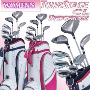国内正規品 ブリヂストンゴルフ ツアーステージ CL レディースハーフクラブセット(8本組+キャディバッグ) BRIDGESTONE GOLF TOURSTAGE CL|takeuchi-golf