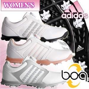 アディダス adidas レディースモデル ウィメンズ アディピュア  ボア ゴルフシューズ Womens adipure BOA|takeuchi-golf