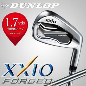 【日本正規品】ダンロップ ゼクシオ フォージド アイアン単品(#4、AW、SW) シャフト:N.S.PRO 930GH DST スチールシャフト DUNLOP XXIO FORGED 2017|takeuchi-golf