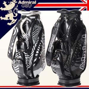 2017年秋冬限定モデル アドミラルゴルフ キャディバッグ ダズル迷彩 カートバッグ ADMG7FC4 Admiral Golf|takeuchi-golf