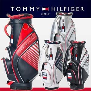 2017年モデル あすつく対応 トミーヒルフィガー ゴルフ ハニカム キャディバッグ カートバッグ THMG7FC2 TOMMY HILFIGER GOLF|takeuchi-golf