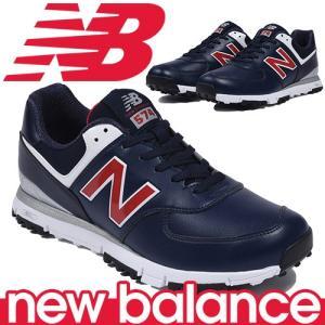 ニューバランス ゴルフシューズ 男女兼用 ユニセックス スパイクレス New Balance golf MGS574NR|takeuchi-golf