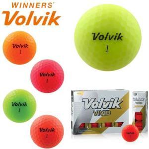 ボルビック ゴルフボール 1ダース(12球) ヴィヴィッド ビビッド volvik VIVID 【国内正規モデル】【あす楽対応】|takeuchi-golf