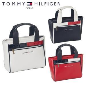 トミーヒルフィガー ゴルフ ラウンド トート バッグ フラッグ アクセント 鞄 THMG8FB9