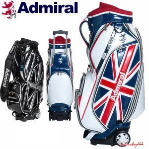 キャディバッグ アドミラル ゴルフ メンズ キャスター付き 9.5型 約4.5kg 8分割 46インチ対応 おしゃれ 人気 レア ADMG0SC6|takeuchi-golf