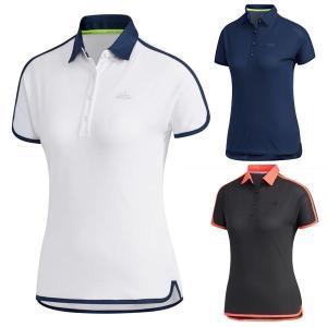 60%オフ アディダス ゴルフ レディース シャツ 半袖 ポロシャツ GLD44|takeuchi-golf