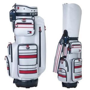 キャディバッグ トミーヒルフィガー ゴルフ メンズ キャディバック 9.0型 4.0kg 6分割 4...
