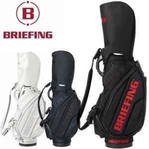 ブリーフィング ゴルフ メンズ キャディバッグ ツアー プロ モデル 9.5型 約5.9kg 5分割 ブラック シルバー BRG203D09 CR-3 #02 レア ブランド BRIEFING GOLF|takeuchi-golf