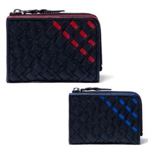 パトリックコックス 小銭入れ メンズ メッシュライン 限定 PATRICK COX 牛革 ファスナー 財布 マルチケース カード 黒 ブラック 赤 レッド 青 ブルー PXMW9MC1|takeuchi-golf