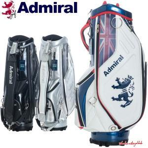 アドミラル ゴルフ キャディバッグ メンズ 9.5型 約5.0kg 6分割 レア ブランド ホワイト レッド ネイビー ブラック シルバー ADMG1AC3 Admiral Golf|takeuchi-golf