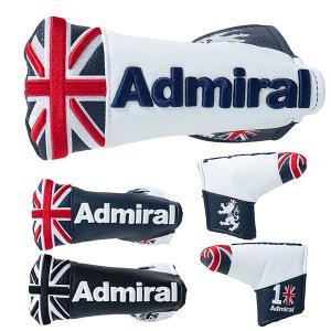 アドミラル ゴルフ パターカバー ヘッドカバー メンズ レディース ブレード ブレードタイプ 10周年記念 ロゴ 刺繍 Admiral Golf 黒 紺 トリコロール ADMG1AH4|takeuchi-golf