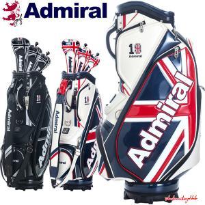 アドミラル ゴルフ キャディバッグ メンズ 9.5型 約5.1kg 6分割 ヘッドカバー3点付き 10周年 限定 レア ブランド ホワイト レッド ネイビー ブラック シルバー A|takeuchi-golf