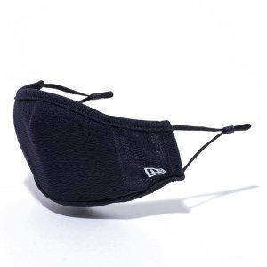 ニューエラ マスク メンズ レディース 吸水速乾 サイズ調整 消臭 通気 洗濯可能 12674073 NEW ERA ネイビー 紺 NAVY ブランド|takeuchi-golf
