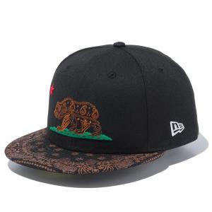 ニューエラ キャップ 帽子 メンズ レディース ソーカル グリズリー ペイズリー 59FIFTY 黒 NEW ERA ベースボールキャップ シール フラットバイザー 12653899|takeuchi-golf