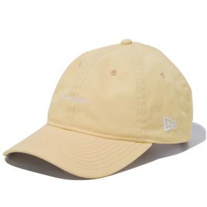 ニューエラ キャップ 帽子 メンズ レディース イタリアンウォッシュ 9THIRTY 茶 NEW ERA ロゴ シール クロスストラップ サイズ調節 カーブドバイザー 12742732|takeuchi-golf