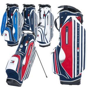 トミーヒルフィガー ゴルフ スタンドバッグ 軽量 メンズ 9.0型 3.0kg 4分割 スタンド バッグ キャディバッグ 赤 青 ホワイト ネイビー レア ブランド THMG1SC7|takeuchi-golf