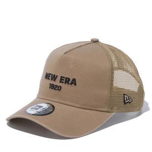 ニューエラ キャップ メッシュ 帽子 メンズ レディース メッシュキャップ ロゴ 9FORTY A-Frame トラッカー NEW ERA スナップバック カーブドバイザー 12654389|takeuchi-golf