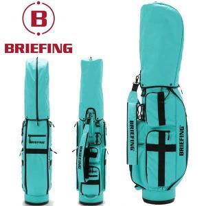 ブリーフィング ゴルフ キャディバッグ メンズ 軽量 8.5型 約3.1kg 5分割 BRG211D56 CR-6 クルーズ アクア レア ブランド BRIEFING GOLF|takeuchi-golf
