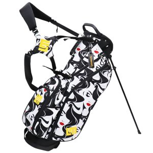 ラウドマウス ゴルフ スタンドバッグ メンズ レディース キャディバッグ スタンド 軽量 8.5型 約2.4kg 4分割 モナ レア 派手 総柄 ブランド LM-CB0010 Loudmouth|takeuchi-golf