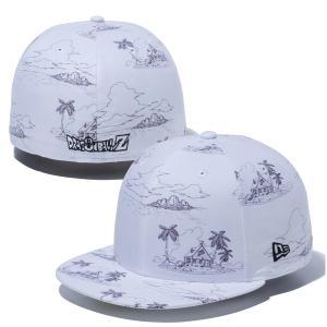 ニューエラ キャップ コラボ 帽子 メンズ レディース コラボキャップ ドラゴンボール 59FIFTY NEW ERA シール ベースボールキャップ フラットバイザー 12654549|takeuchi-golf
