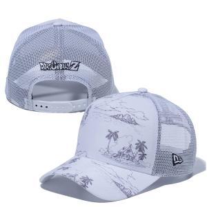 ニューエラ キャップ メッシュ コラボ 帽子 メンズ レディース メッシュキャップ コラボキャップ ドラゴンボールZ 9FORTY A-Frame NEW ERA サイズ調節 12654409|takeuchi-golf