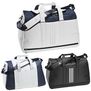 アディダス ゴルフ ダッフルバッグ メンズ レディース バッグ ボストンバッグ ショルダーストラップ キャリーハンドル adidas golf 黒 ブラック 白 ホワイト EMH|竹内ゴルフ PayPayモール店