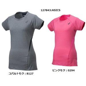 ランニングウェア レディース トップス アシックス 半袖 tシャツ|takeuchisportspro