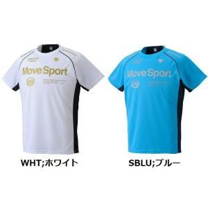 送料無料可  半袖Tシャツ デサント メンズ takeuchisportspro