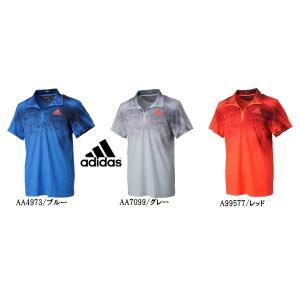 アディダス テニス ADIZERO ポロシャツ メンズ JXJ24