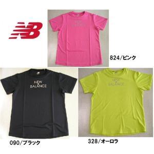 ニューバランス ランニングtシャツ レディース ラメロゴ S|takeuchisportspro