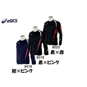 アシックス ランニング用 暖か 保温 長袖シャツ XT606C  【レターPACKライト¥360発送可能】|takeuchisportspro