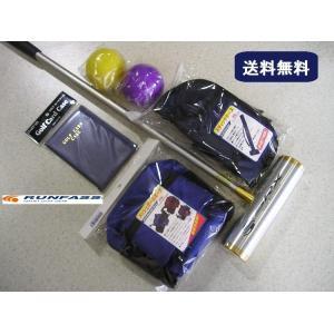 マレットゴルフ 用品 セット 6点 青 送料無料|takeuchisportspro