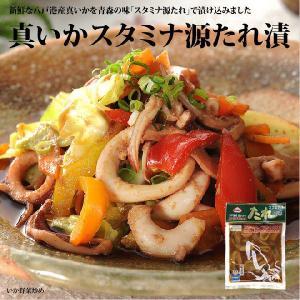 真いかスタミナ源たれ漬 −八戸港に水揚げされた新鮮な真いかを使用しました−|takewa