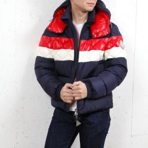 【送料無料!】モンクレール MONCLER メンズ ダウンジャケット JANVRY 764 ネイビー...