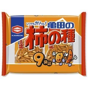 ■亀田製菓 柿の種 9袋入り