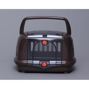 扉が収納できてハウスとしても使える!|犬猫兼用 おでかけ 旅行 シートベルト固定 通院