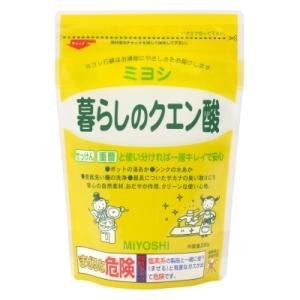 ミヨシ石鹸 暮らしのクエン酸 330g ハウス...の関連商品7