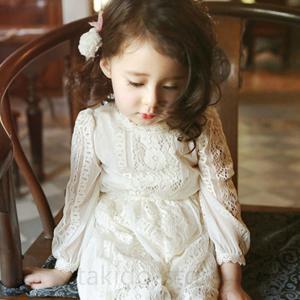 274433ccc41c7 子供服 ワンピース キッズ 韓国子供服 子供ドレス 長袖 ジュニア 総レース フォーマル こども服パーティードレス ピアノ発表会 結婚式 可愛い