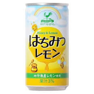 神戸居留地 はちみつレモン 185g 10ケース(300本)|takihan-1
