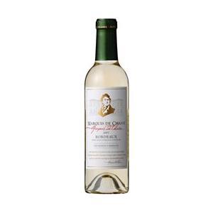 フランスワイン マルキ・ド・シャッス ブラン (白) 375ml 1ケース(24本ケース) 1本当たり、655円|takihan-1